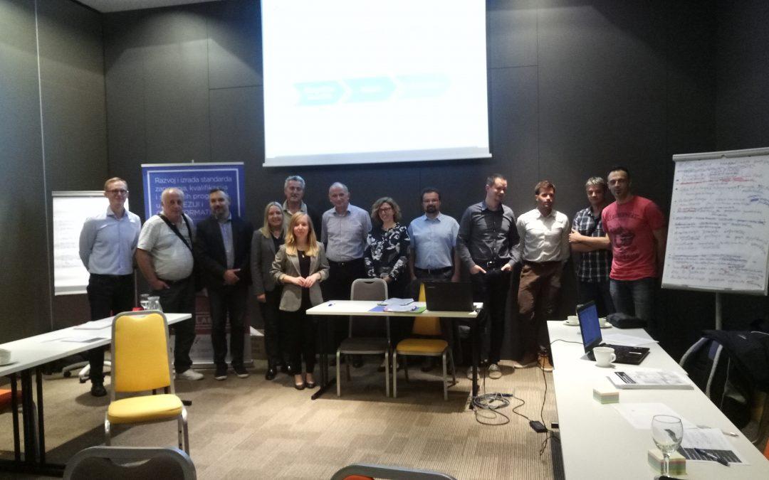 Održani sastanci radne skupine za standard zanimanja u Tuhelju