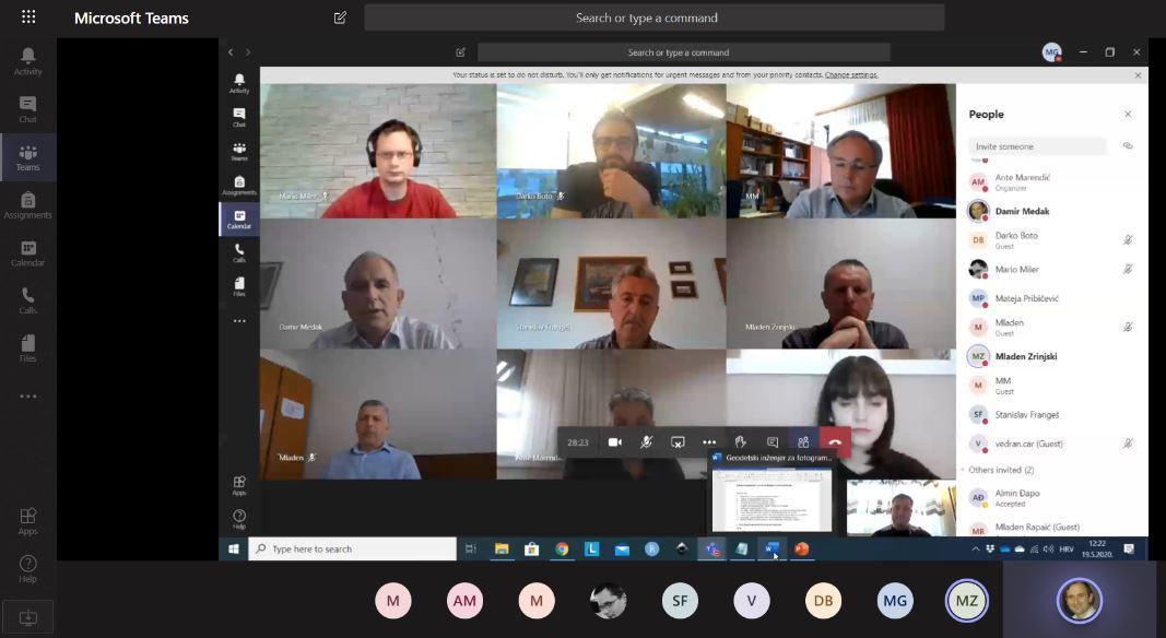 Održani online sastanci radne skupine za standarde zanimanja